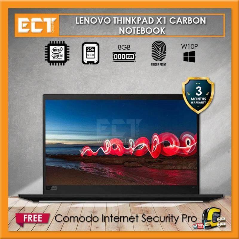 (Refurbished) Lenovo Thinkpad X1 Carbon Business Laptop (i5-5300U 2.90GHz,256GB SSD,8GB,14 FHD,F/P,W10P) Malaysia