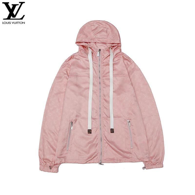 96784acbada 2019 ☞HOT SELLING☜ Original_LV long-sleeved hooded lightweight trench coat  jacket men's/