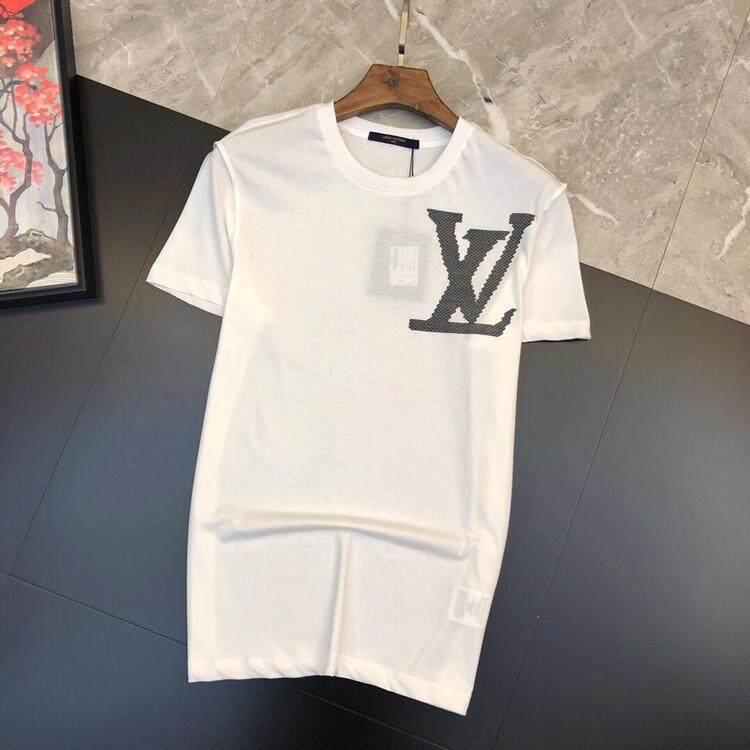 df1ed095 LV2019 new high-end casual T-shirt luxury aristocratic clothing