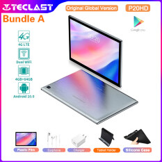 【READY STOCK】Teclast P20HD SC9863A Octa Core 4GB RAM 64GB ROM 10.1 Inch 1920*1200 Dual 4G LTE Tablet Android 10 Tablet PC