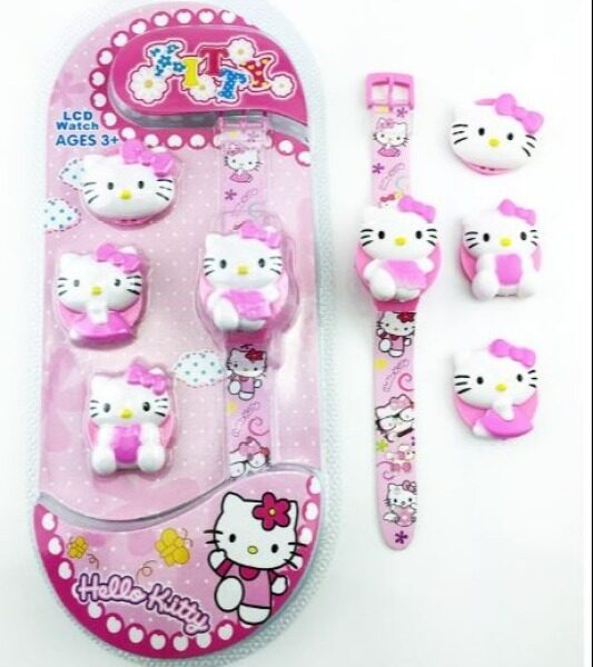 Kids Watch Hello Kitty Collection 3+ Ages (-_-) Malaysia