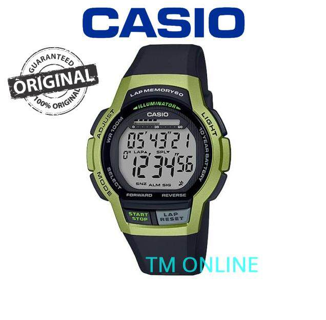 (ORIGINAL+1YR WARRANTY) WS-1000H SERIES SPORT MENS WATCH Malaysia