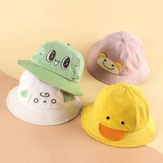 I Love daddy & Mummy trai cô gái hat dễ thương thiết kế động vật bé lưu vực hat Sun Shading trẻ em ngư dân hat