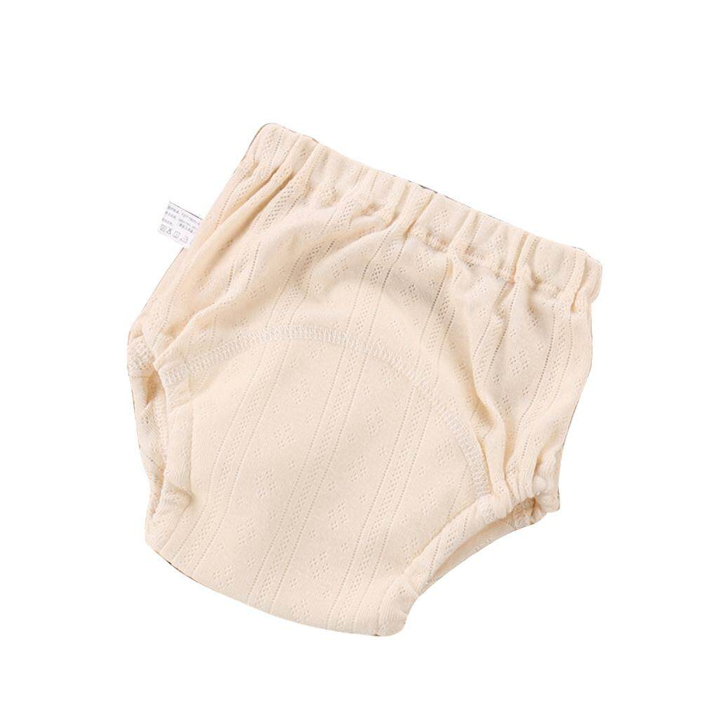 Baby Training Pants Reusable Washable Gauze Diaper Nappy Training Underwear
