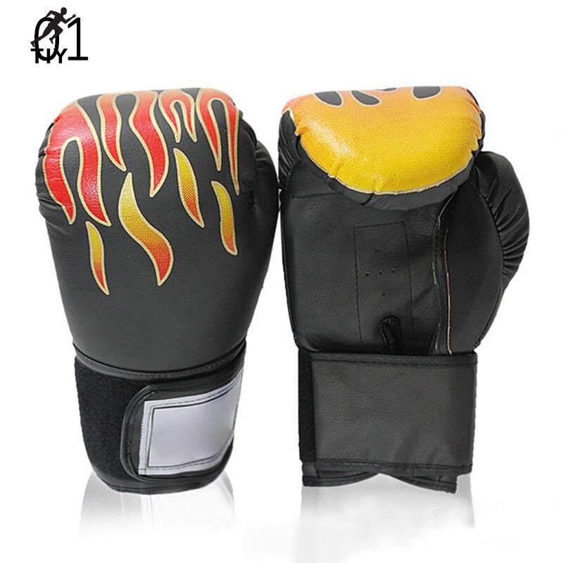 Voucher tại Lazada cho Trẻ Em Găng Tay Đấm Bốc Người Lớn PU Da Sparring Kickboxing Găng Tay Tập