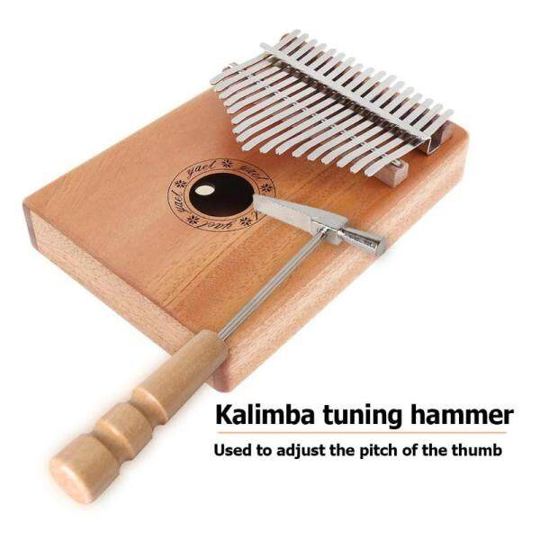 Kalimba Tuning Hammer Wooden Handle Metal Tuning Hammer for Thumb Piano Malaysia