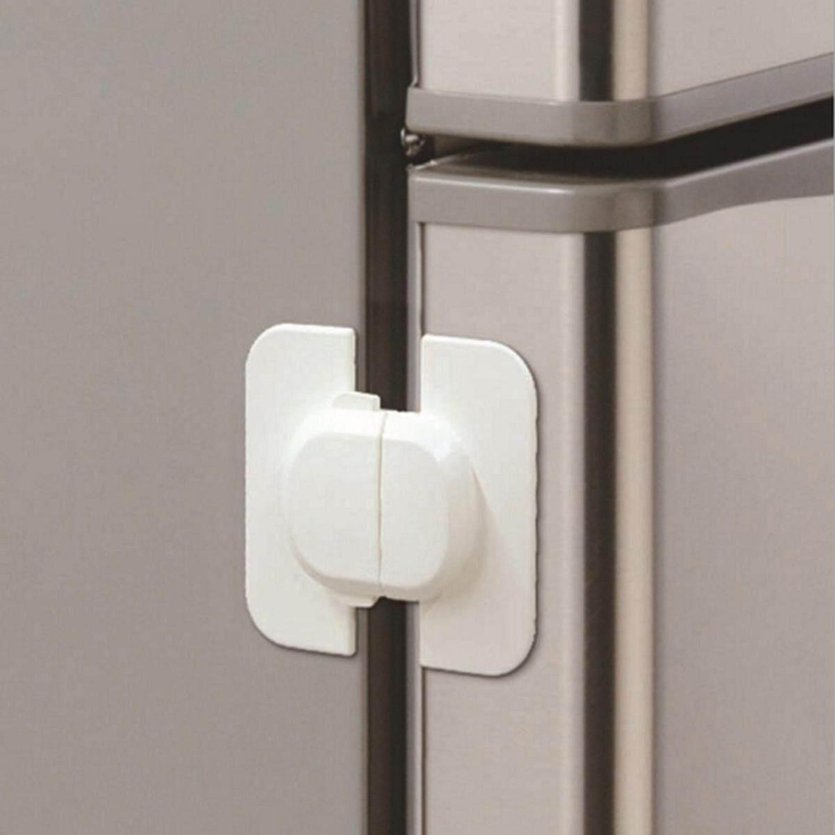 Kulkas Lemari Es Freezer Pintu Kunci Kait Kunci untuk Bayi Balita Anak Safety-Intl