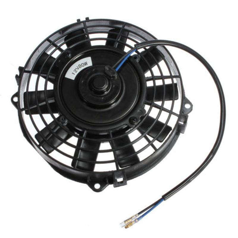 Bảng giá 7 inch Electric Radiator/Intercooler 12v Slim Cooling Fan + Fitting Kit Phong Vũ