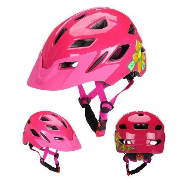 Mua Mũ Bảo Hiểm Xe Đạp Đúc Nguyên Khối Cho Trẻ Em, Thoáng Khí Trượt Băng Mũ Bảo Hiểm, Trẻ Em An Toàn Chu Kỳ Mũ Bảo Hiểm Với Đèn Đuôi Casco Ciclismo