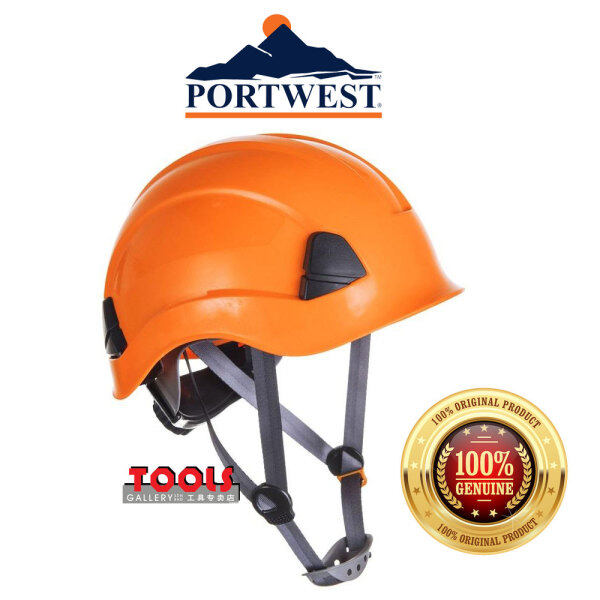 PORTWEST Height Endurance Helmet - PS53 (Orange)/Safety Helmet/Working At Height/Head Protection