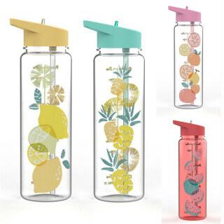 Ống Hút Cốc Họa Tiết Trái Cây Không BPA Bằng Nhựa Cầm Tay Tập Gym Đạp Xe 720ML, Thể Thao Dưới Nước Chai thumbnail