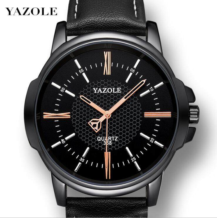 YAZOLE 358 Top Luxury Brand Watch For Man Fashion Sports Men Quartz Watches Trend Wristwatch Gift For Male jam tangan lelaki Malaysia