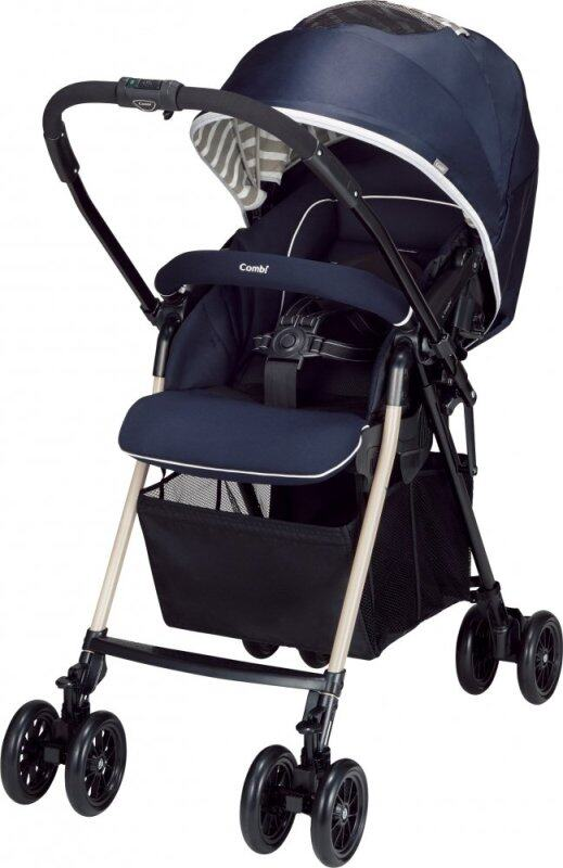 Combi (Combi) stroller Mecha cargo IG large cargo equipped with high seat stroller age one month to object border navy up to 36 months around May 116457 Singapore
