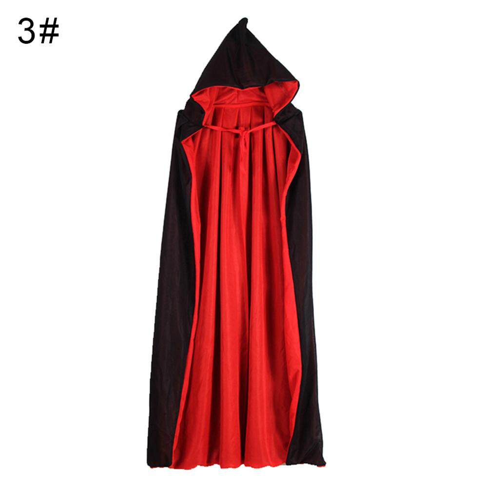 Laputa Halloween Kids Hooded Witch Wizard Vampire Cloak Cosplay Costume Cape Gown Robe