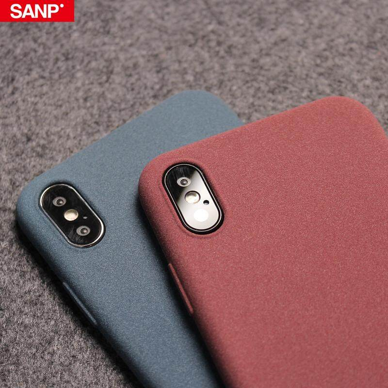 Ultra-Thin Sandstone Soft Case For iPhone X Xs Max XR Scrub Cover For iPhone