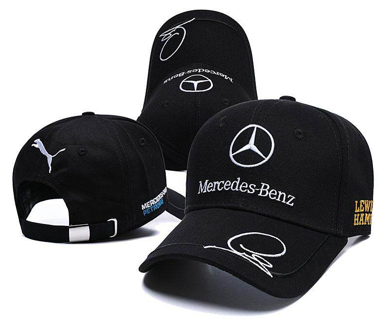 High Quality Racing Cap 100% Cotton Outdoor Baseball Cap Mercedes  Embroidery Snapback Fashion Sports Hats f62b5055ab34