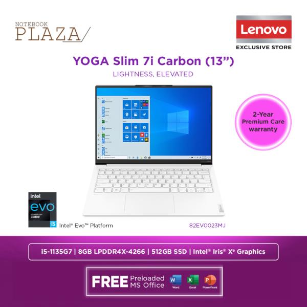 Lenovo Yoga Slim 7 Carbon 13ITL5 82EV0023MJ 13.3 WQXGA Laptop Moon White ( i5-1135G7, 8GB, 512GB SSD, Intel, W10, HS ) Malaysia