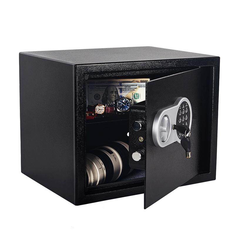 Security Safe Box 30*38*30CM 11kg Digital Depository Drop Cash Jewelry Home Hotel Lock Keypad Safety Security Box Secret Stash