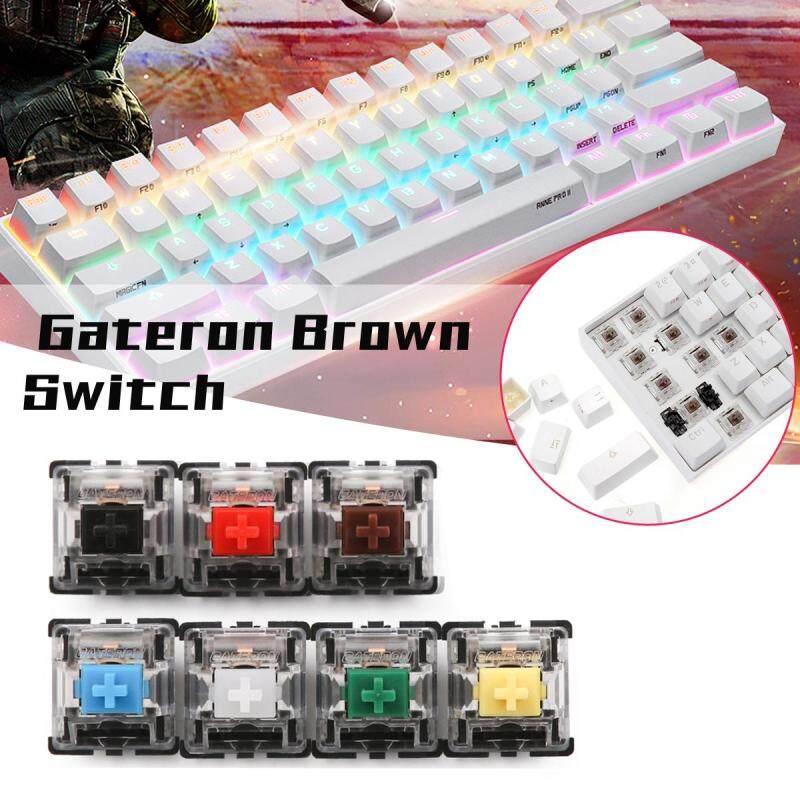 70PCS Pack 3Pin Gateron Tactile Brown Switch Keyboard Switch for Mechanical Gaming Keyboard Malaysia