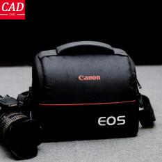 Túi Đựng Máy Ảnh DSLR Cổ Điển Túi Đeo Vai Túi Xách Tay Thời Trang Polyester Vỏ Máy Ảnh Cho Canon 1 Camera 2 Ống Kính Và Phụ Kiện Nhỏ