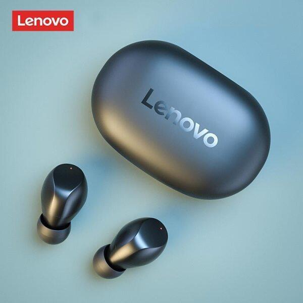 Lenovo TC02 Wireless Earbuds Bluetooth 5.0 In-Ear True Wireless Earphones Waterproof Superb Deep Bass Earphone Built In Microphone for Huawei Xiaomi iPhone Samsung Oppo Singapore