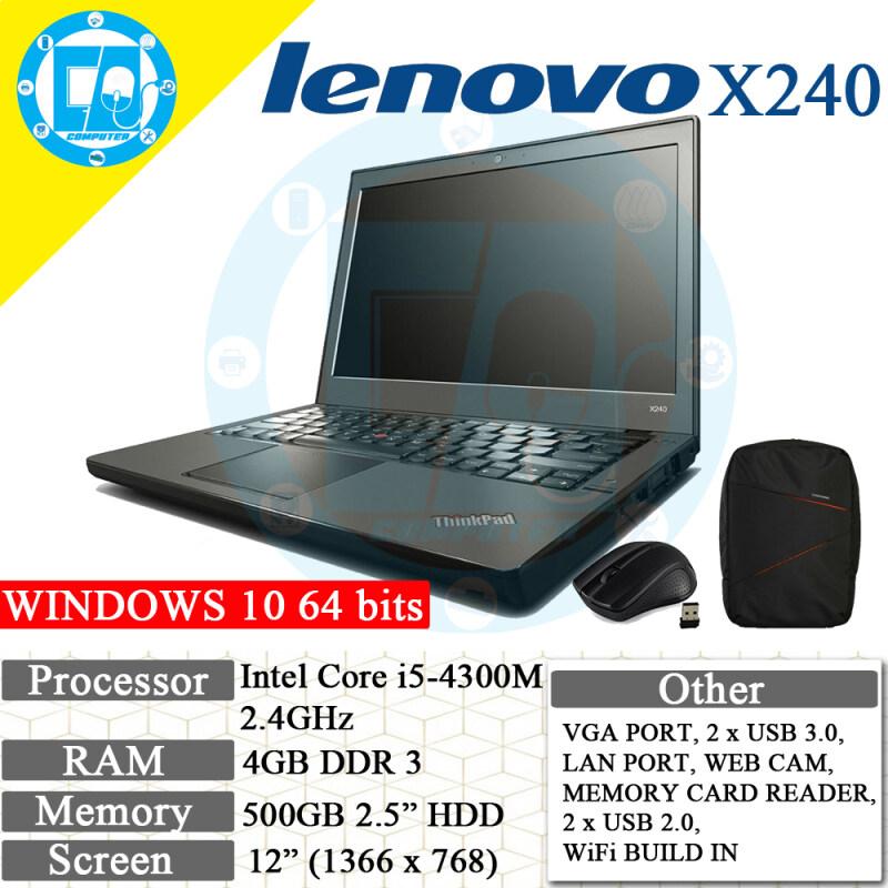 LENOVO X240 ULTRABOOK RECON LAPTOP/NOTEBOOK Malaysia