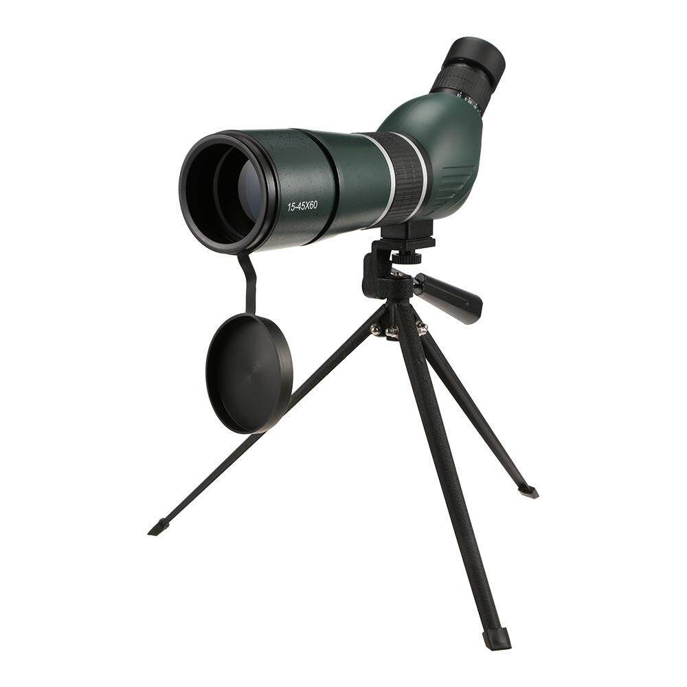 15 - 45X 60MM Outdoor Compact HD Bright Images Monocular Telescope with Tripod