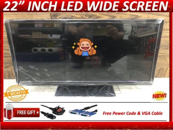 New 22 Inch Full HD LED Wide Screen Monitor ( Oem Brand) Malaysia