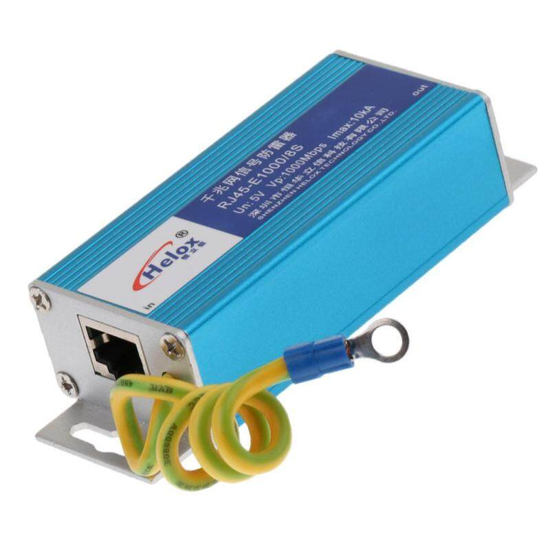 Miracle Shining RJ-45 Gigabit Ethernet Network Device Surge Protector Lightning Arrester