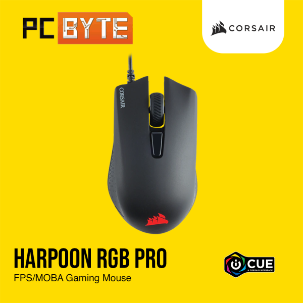 Corsair HARPOON RGB PRO FPS/MOBA Gaming Mouse Malaysia