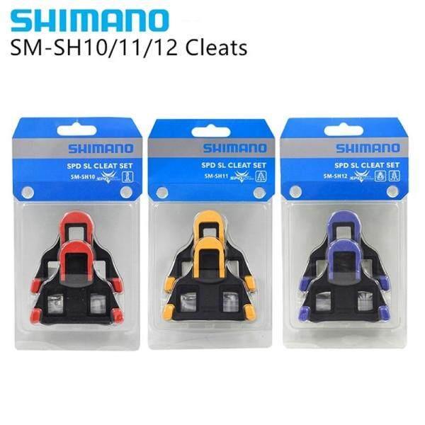 Phân phối SHIMANO SPD SL Thông Minh Bộ SM SH10 SH11 SH12 Bộ Xe Đạp Xe Đạp Tự khóa Đĩa Phao Đạp bàn đạp ăn gian