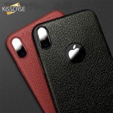 Kisscase Siêu Mỏng Ốp Điện Thoại Cho Iphone 11 Pro Max 6S 6 7 8 Cộng Với XS Max Bìa Ốp Bằng Da Nhựa TPU Mềm Trường Hợp Đối Với iPhone XR X Bìa