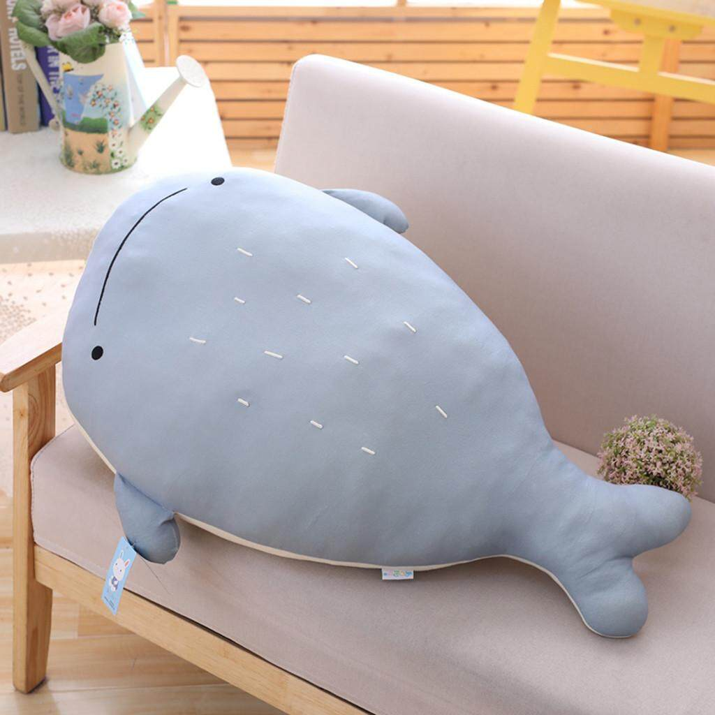 Hotilystore Cute Animal Shape Throw Pillow Toys Gift Back Support Soft Cushion Home Decor