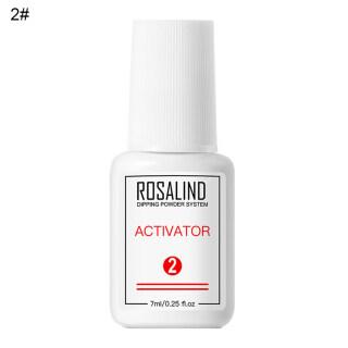 Zhixin ROSALIND 7Ml Nailss Dipping Powder Sistem Dasar Top Coat Brush Saver Activitor thumbnail