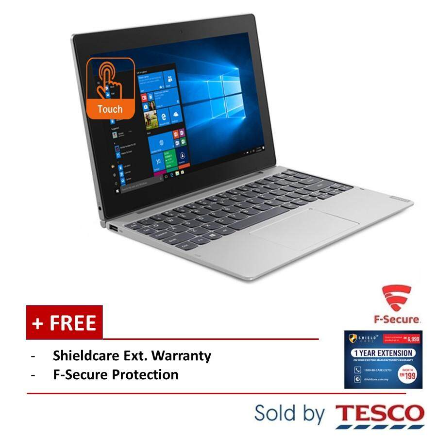 [RM1121 after Voucher] Lenovo MIIX D330-10IGM 81H3003WMJ (Celeron© N4000/ 4GB/ 64GB) + ShieldCare + Fsecure (Grey) Malaysia