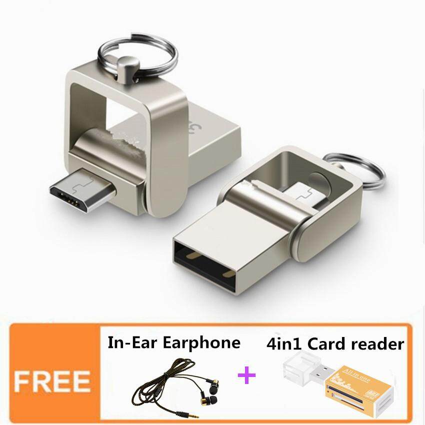 OTG USB Flash Drive 128GB External Storage Micro USB Pen Drive For Android Smart Phone Tablet