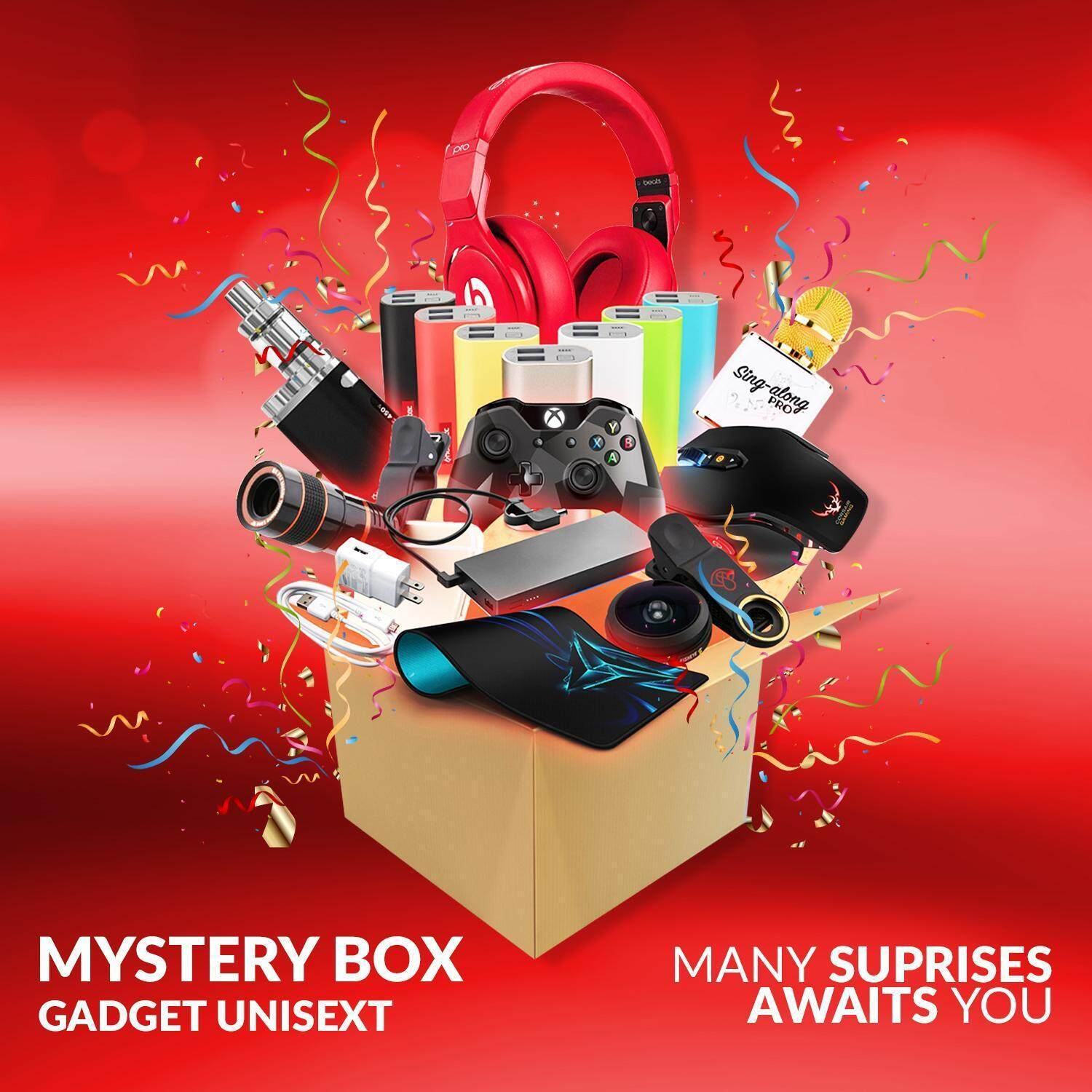 Mystery Box & Mystery Gift for 2-3 Items Have the opportunity to get SD/TF Card for mobile phones, tablets, drones,monitors