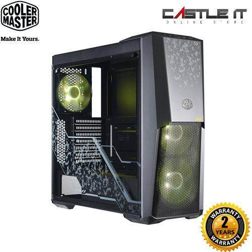 COOLER MASTER CASING ATX MASTERBOX MB500 TUF GAMING EDITION Mid Tower Chassis Malaysia