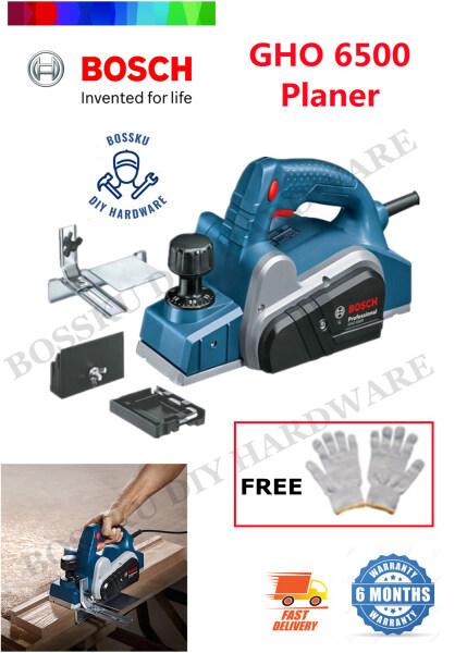 BOSCH GHO6500 Professional Planer (Free Working Cotton Glove 1pair) BOSSKU