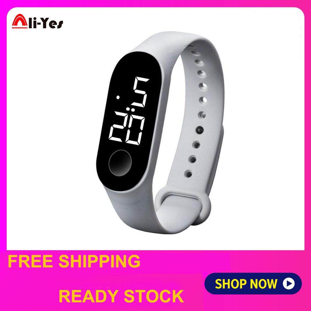Ali-Yes Sport Watch Swimming Waterfoor LED Sport Watch for M3 Fashion LED Running Watch for Men Women Malaysia