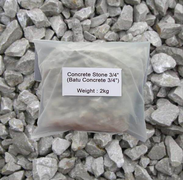 Concrete Stone 3/4 (Batu Concrete) 2kg