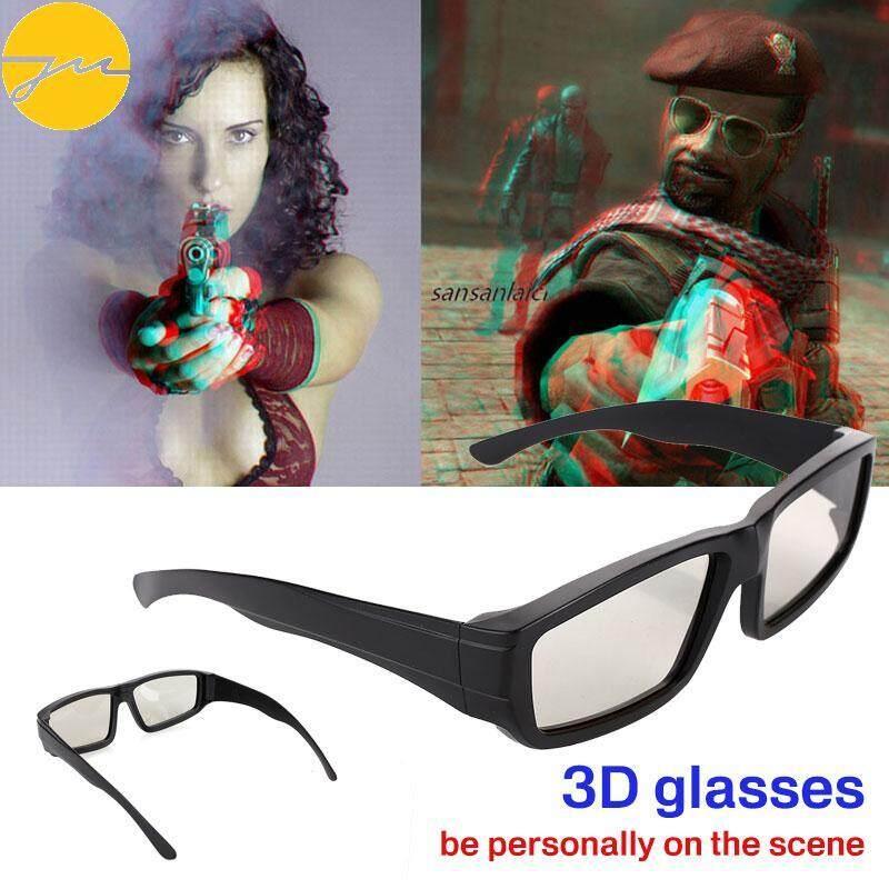 Giá Tiết Kiệm Để Sở Hữu Ngay Kính Mắt Jms 3D Kính 3D Kính Mắt Phân Cực Tròn Di Động Phổ Quát Nhựa Phân Cực 3D Tròn ABS LCD Nhà Hát Kính