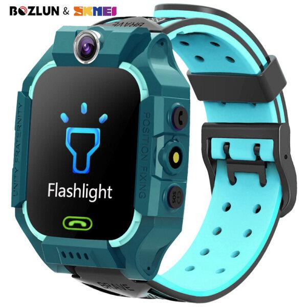 Đồng hồ điện thoại thông minh Skmei bozlun cho trẻ em đồng hồ đeo tay chống nước có màn hình cảm ứng GPS gọi điện cho bé trai bé gái w39 bán chạy