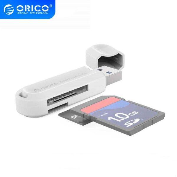 Bảng giá ORICO Đầu Đọc Thẻ Thông Minh USB 3.0 SD Micro SD Mini Cho MacBook Đầu Đọc Thẻ Nhớ Tối Đa 128GB Bộ Chuyển Đổi USB SD Tất Cả Trong Một (CRS21) Phong Vũ