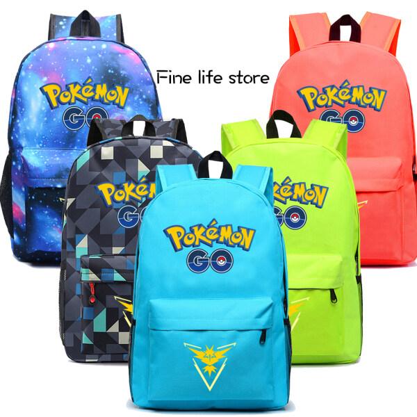 Ba Lô Hoạt Hình Pokemon Cho Trẻ Em, Túi Thường Ngày Nhẹ Cho Bé Trai Bé Gái Cặp Sách Trẻ Em Không Thấm Nước Quà Sinh Nhật Cho Trẻ Em