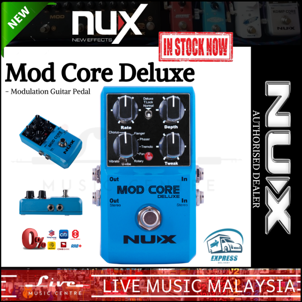 NUX Mod Core Deluxe - Modulation Effects Pedal Malaysia
