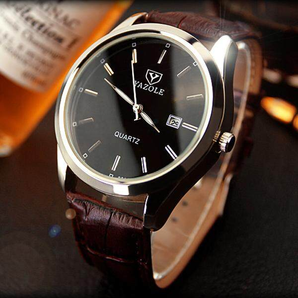 YAZOLE Top Luxury Brand Watch Famous Fashion Sports Cool Men Quartz Watches Mens Trend Wristwatch Gift For Male YZL308 Malaysia