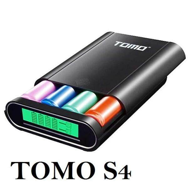 TOMO S4 DIY Smart Power Bank 4 X 18650 Li-Ion Battery Type-C Micro USB 8 Pin Malaysia
