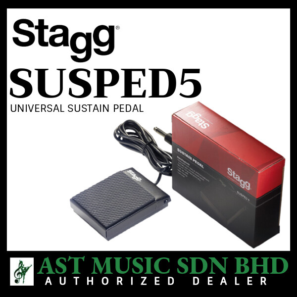 Stagg SUSPED 5 Universal Sustain Pedal for Digital Piano or Keyboard (SUSPED5) Malaysia