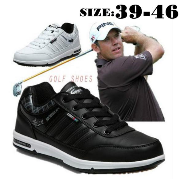 Da Golf Giày Giày Nam Nhẹ Giày Golf Chống Trượt Chống Nước Thoáng Khí Golf Giày Giày Thể Thao Ngoài Trời Cho Nam